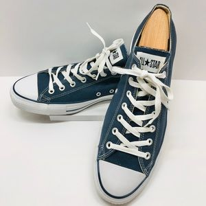 CONVERSE Ox Low Top Chuck Taylor Navy Blue & White